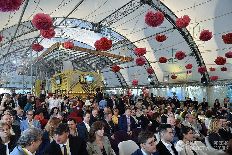 На торжественной церемонии награждения лауреатов XVII национальной премии Медиа-менеджер России – 2017