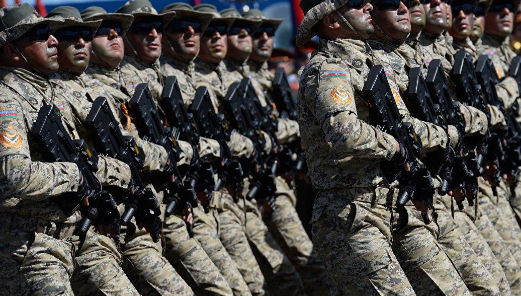 Военные из Азербайджана принимают участие в учениях спецназа в Турции