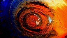 Вид Земли снятый с Международной космической станции. Архивное фото