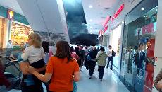 LIVE: Пожар в торговом центре РИО в Москве