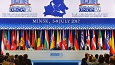 Заседание 26-й ежегодной сессии Парламентской ассамблеи ОБСЕ. Архивное фото