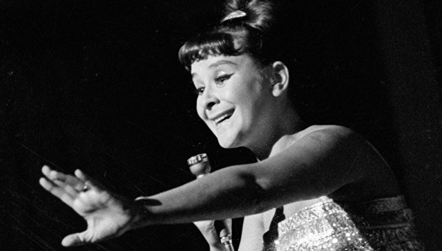 Певица Тамара Миансарова. Архивное фото