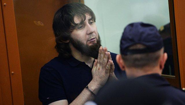 Заур Дадаев во время оглашения приговора по делу об убийстве Бориса Немцова. Архивное фото