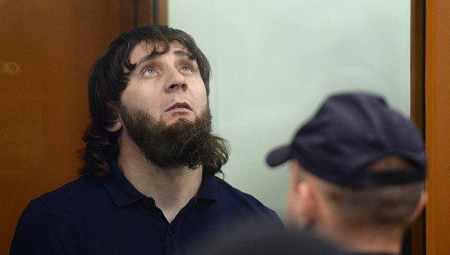 Заур Дадаев во время оглашения приговора в Московском окружном военном суде. Архивное фото