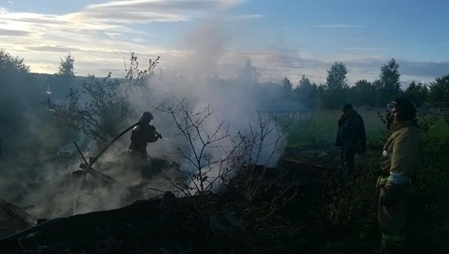 ВБратске впожаре  вдачном доме погибли шесть человек