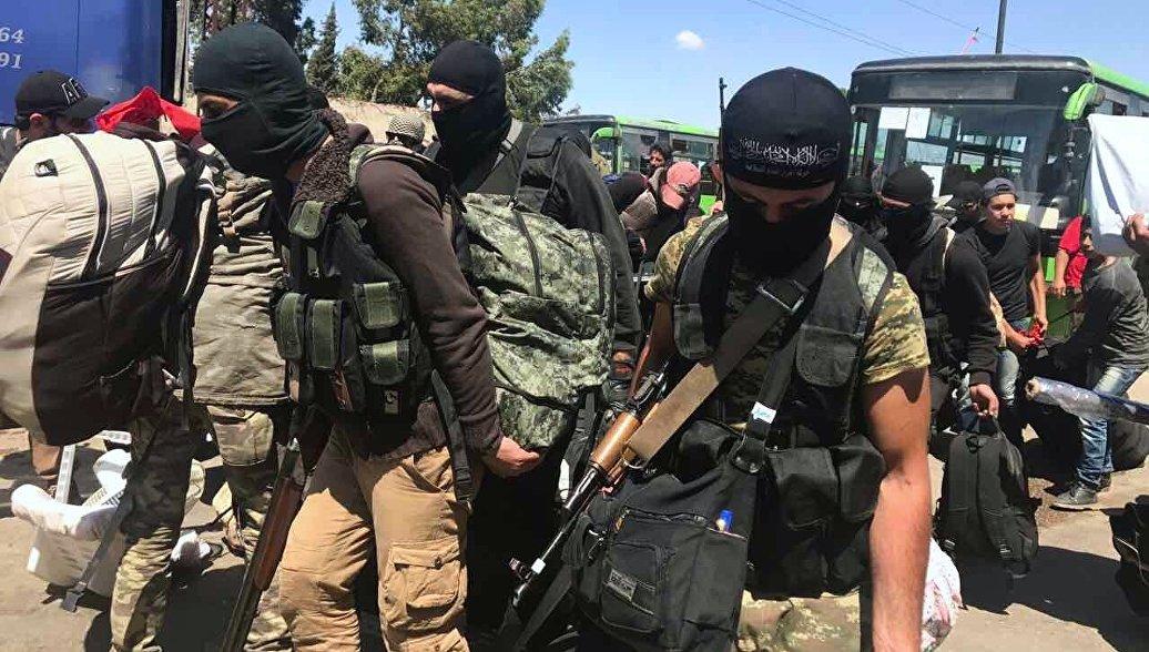 """В Сирии заявили, что тысячи боевиков готовы воевать против """"ан-Нусры""""* - РИА Новости, 17.07.2017"""