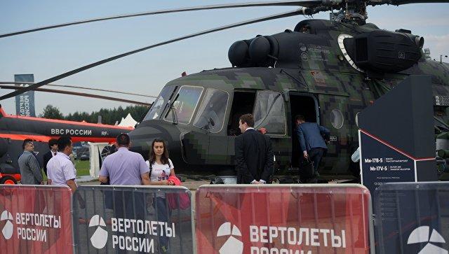 Россия и Мексика планируют новые контракты по модернизации вертолетов Ми-17