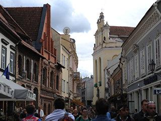 Улица Пилес в Вильнюсе. Архивное фото