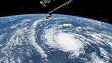 Вид на ураган. Архивное фото