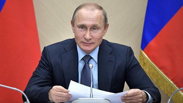 Путин заявил, что не стал менять конституцию для продления полномочий