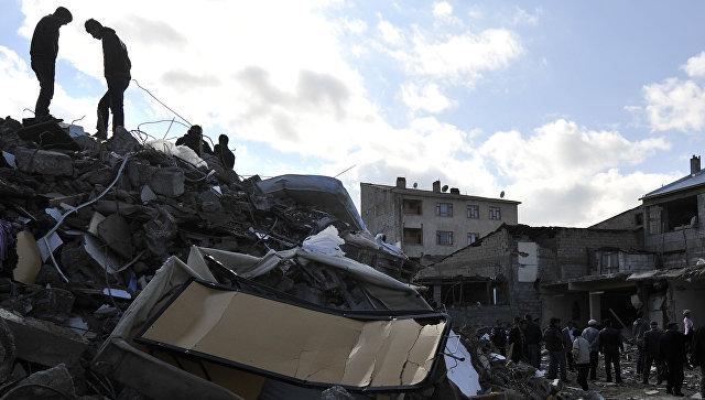 Последствия землетрясения в Турции. Архивное фото