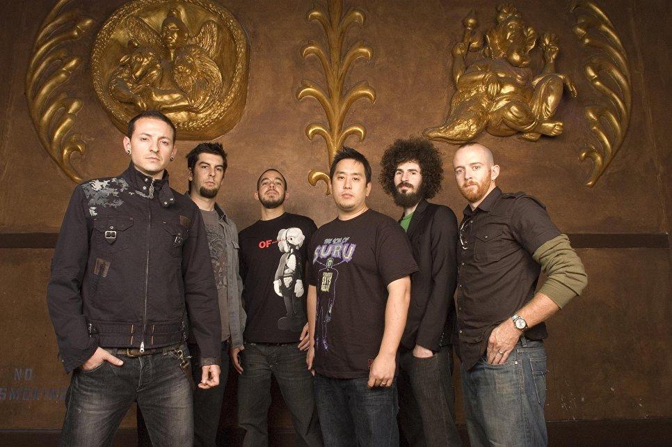 Участники американской группы Linkin Park