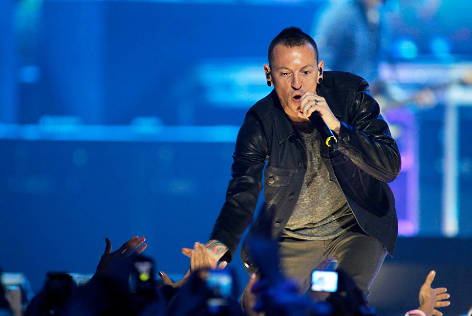 Участник американской группы Linkin Park Честер Беннингтон