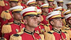 Военный оркестр Египта. Архивное фото