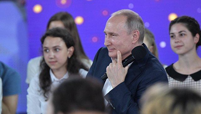 Путин рассказал, что всегда занимался спортом