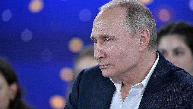 Путин рассказал детям в Сочи о постпрезидентских планах