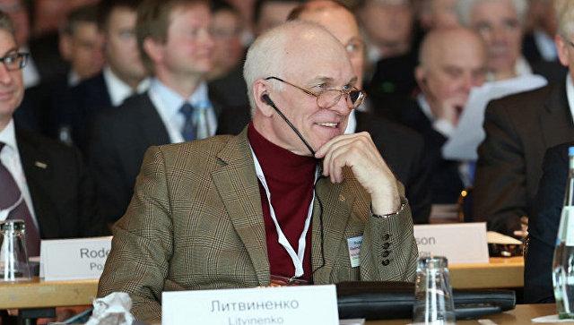 Ректор Национального минерально-сырьевого университета Горный Владимир Литвиненко