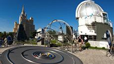 Московский планетарий. Архивное фото