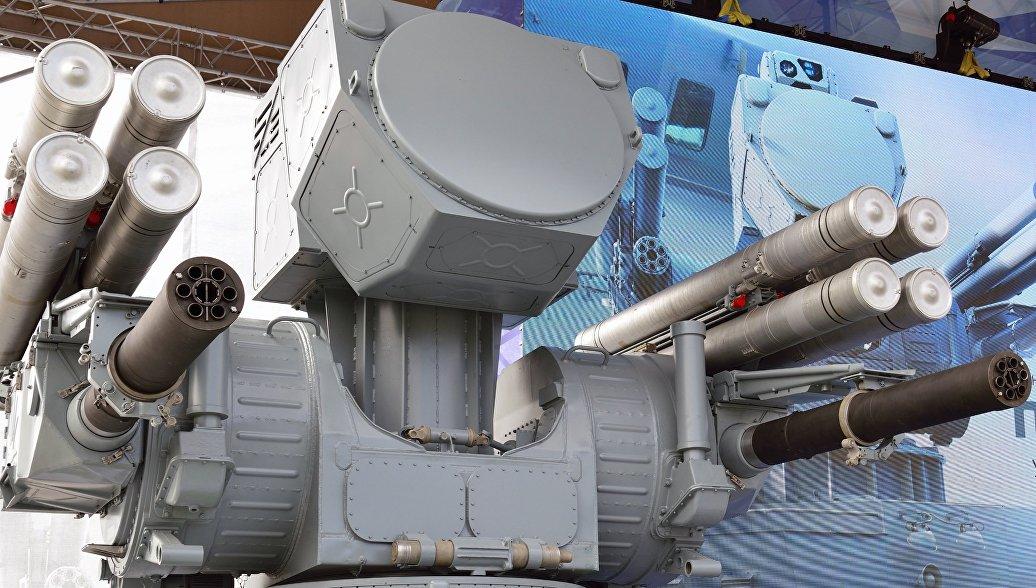Корабельный комплекс противовоздушной обороны Панцирь-МЕ