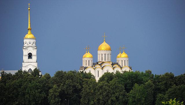 Успенский собор во Владимире. Архивное фото