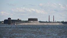 Подводная лодка Дмитрий Донской. Архивное фото