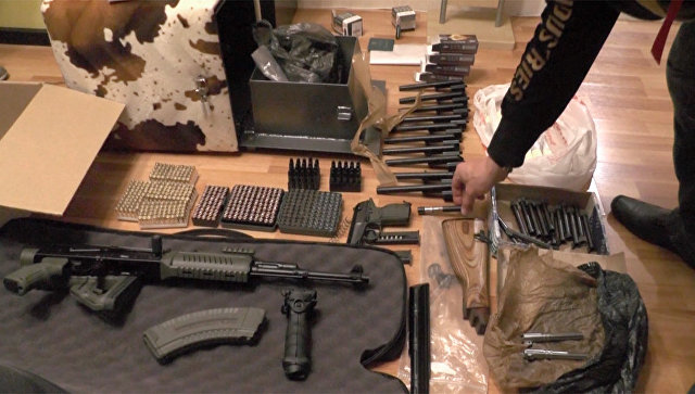 Оружие, изъятое ФСБ. Архивное фото