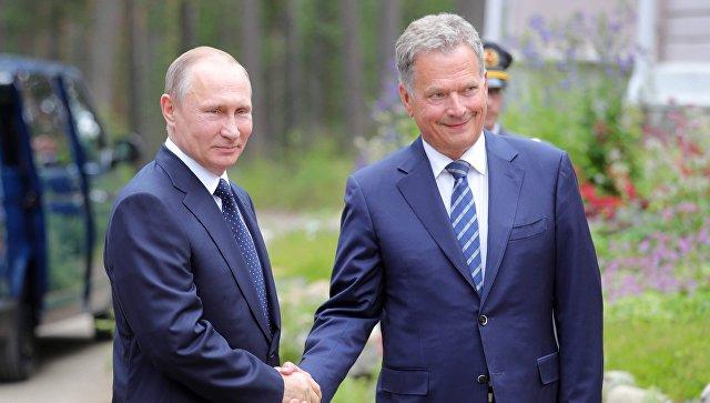 Путин ипрезидент Финляндии 1.5 часа общались сглазу приблизительно