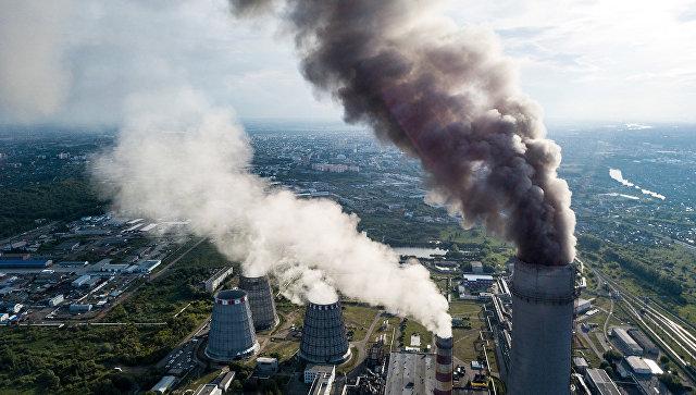 Выброс парниковых газов. Архивное фото