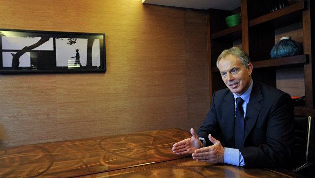 СМИ узнали о тайных связях Тони Блэра и ОАЭ