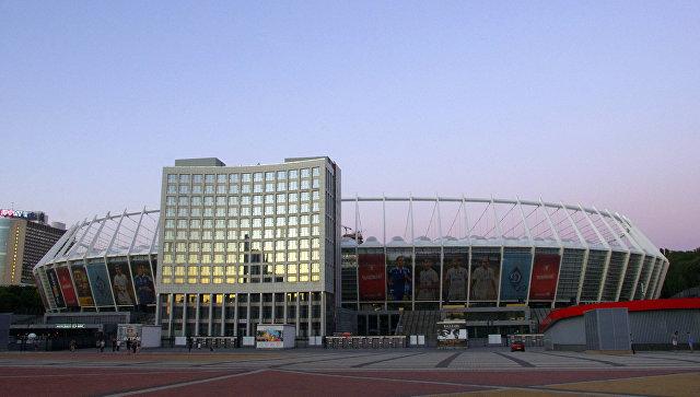 Национальный олимпийский стадион. Киев, Украина. Архивное фото