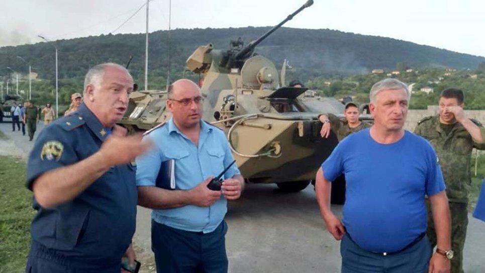 Абхазский Минздрав проинформировал о госпитализации 64 человек после взрыва боеприпасов