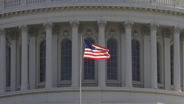 Капитолий, здание в Вашингтоне, где заседает конгресс США. Архивное фото