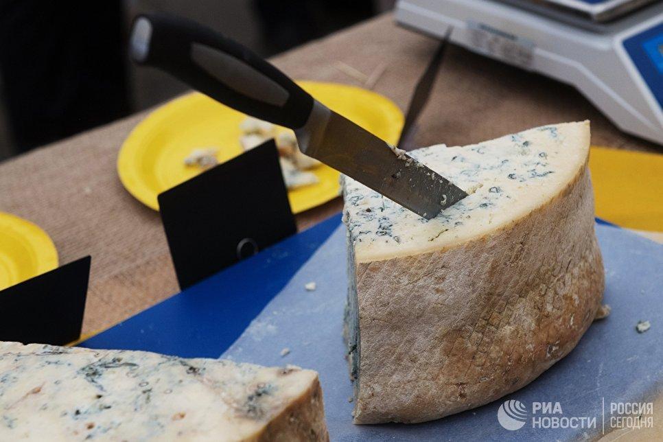 Сыр, представленный на фестивале фермеров – сыроваров в Московской области
