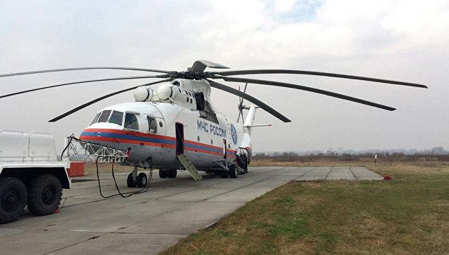 Очередная группа спасателей изХабаровска направлена вПриморье