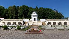 Часовня-ротонда на Лычаковском кладбище Львова. Архивное фото