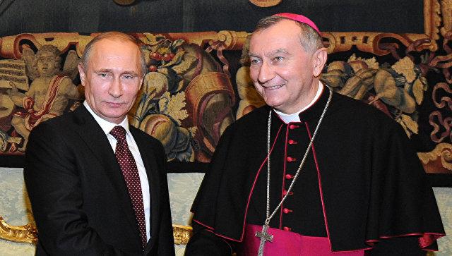 Анонсирована встреча: Владимир Путин проведет переговоры с госсекретарем Ватикана