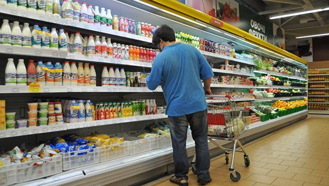 Магазин продуктов питания во Львове. Архивное фото