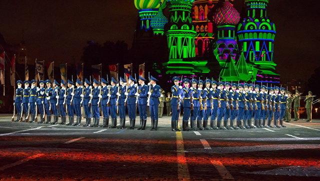 Спасская вышка, фестиваль 2017: русская столица принимает Международный фестиваль военных духовых оркестров