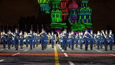 Оркестр из Белоруссии на фестивале Спасская башня. Архивное фото