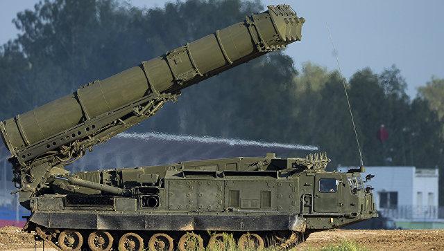 Российская система ПВО С-300ВМ Антей-2500. Архивное фото