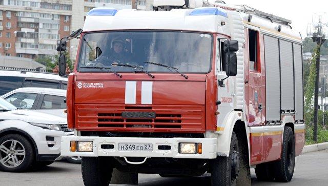 В Новосибирской области двое детей погибли при пожаре в частном доме