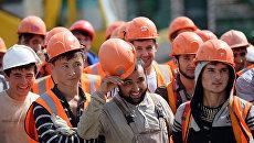 Рабочие. Архивное фото