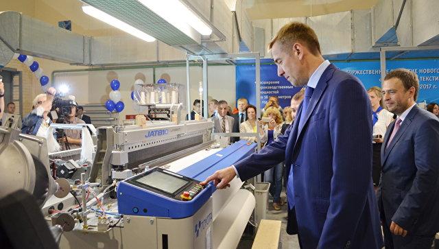 Чайковский текстиль запустил в Пермском крае новый ткацкий цех