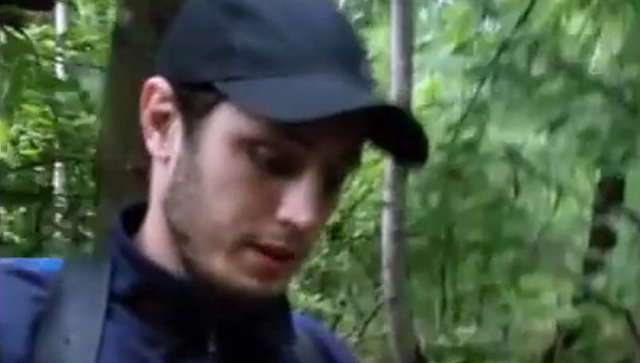Стоп-кадр видео расстрела Магомеда Нурбагандова. Архивное фото