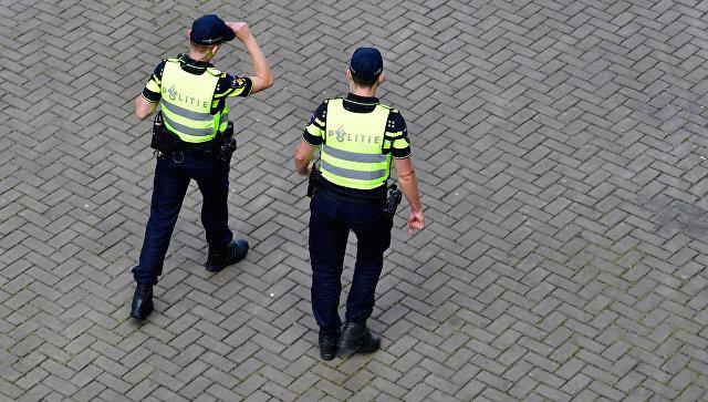 Полицейские в Нидерландах. Архивное фото