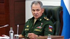 Министр обороны РФ Сергей Шойгу. 18 августа 2017