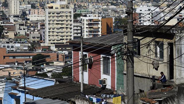 Пригород Рио-де-Жанейро, архивное фото