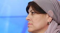 Чеченская правозащитница Хеда Саратова. Архивное фото