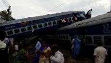 Крушение поезда в Индии. Архивное фото