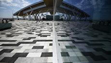 Строящийся новый международный аэропорт Платов в Ростовской области. Архивное фото